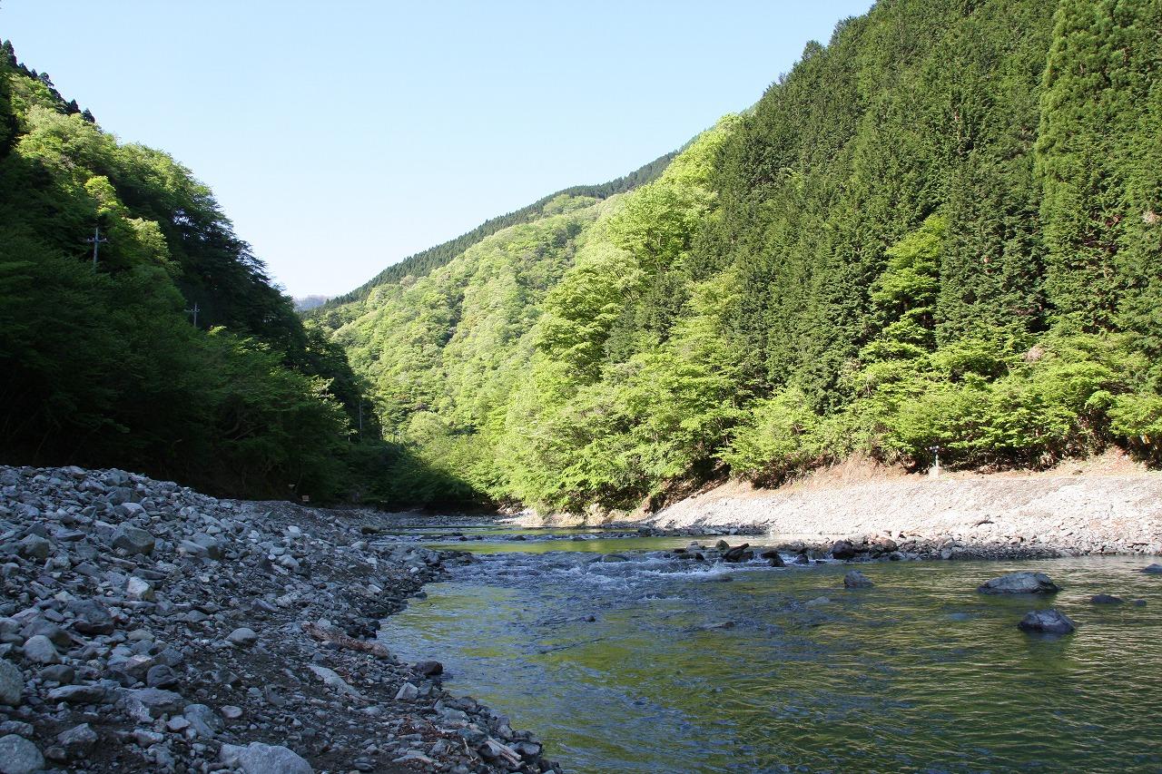 うらたんざわ渓流釣り場を撮影(2008年5月6日)