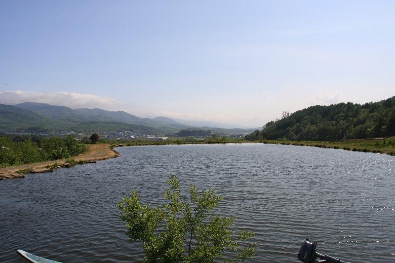 2008年05月27日・30日 フィッシングエリア尻別川(北海道)に行ってきました。
