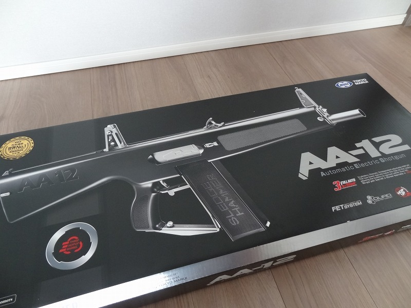 AA-12を購入しました(東京マルイ)