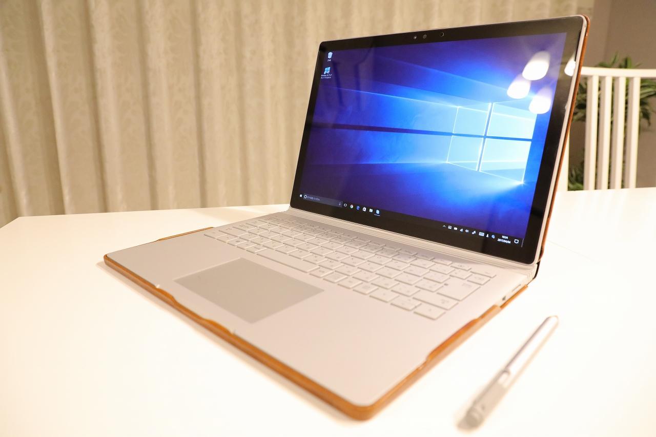 マイクロソフト Surface book 13.5型ノートPC(CR7-00006)を購入しました。