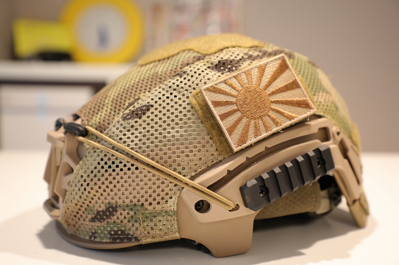 TEAMWENDY EXFIL LTP メッシュヘルメットカバー(71-MHC-MC)買いました。